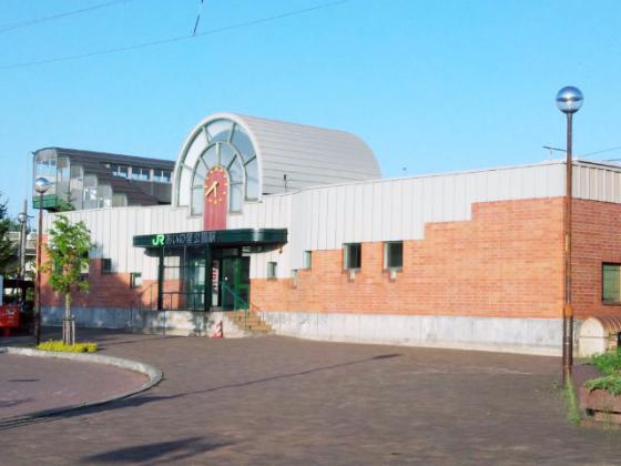 学園都市線「あいの里公園」駅