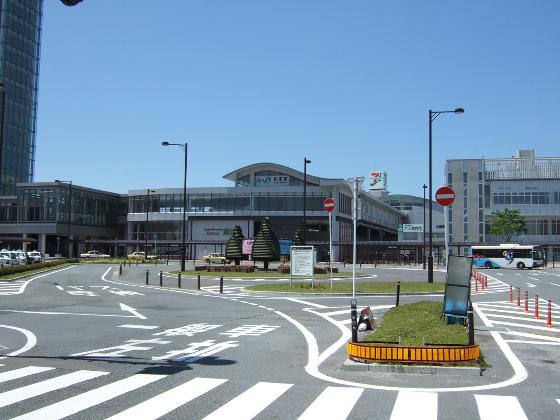 秋田駅東口