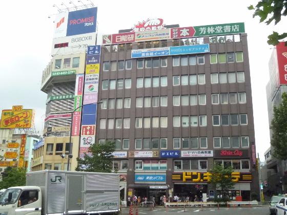 高田馬場駅前周辺