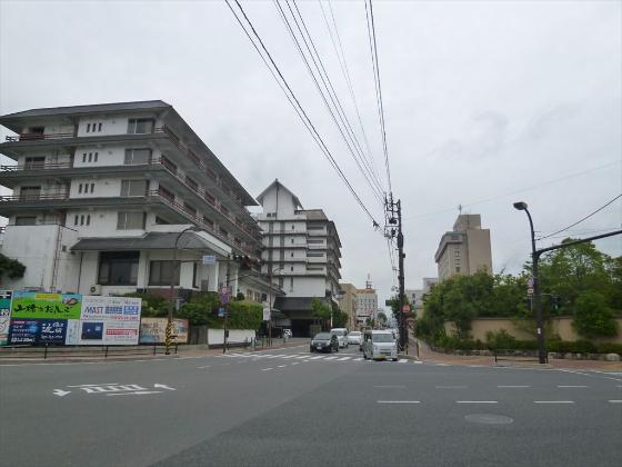 湯田温泉街