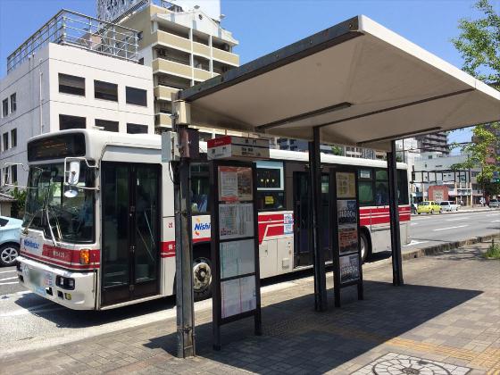 バス停「黒門」